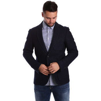 textil Hombre Chaquetas / Americana Antony Morato MMJA00322 FA500034 Azul