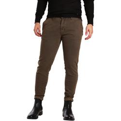 textil Hombre Pantalones chinos Gaudi 721BU25007 Marrón