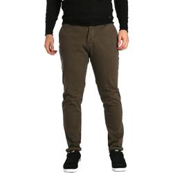 textil Hombre Pantalones chinos Gaudi 721BU25014 Marrón