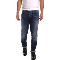textil Hombre Vaqueros slim 3D P3D1 2659 Azul