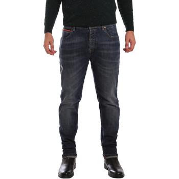 textil Hombre Vaqueros slim 3D P3D1 2667 Azul