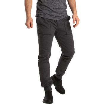 textil Hombre Pantalones de chándal Key Up SF19 0001 Gris