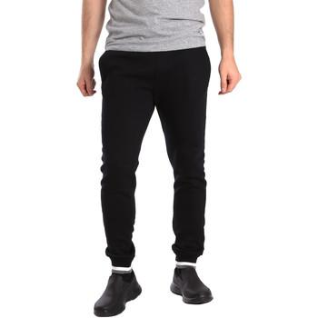 textil Hombre Pantalones de chándal Key Up SF24 0001 Negro
