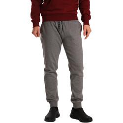 textil Hombre Pantalones de chándal Key Up GV77 0001 Gris