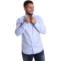 textil Hombre Camisas manga larga Gmf 972903/02 Azul