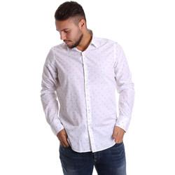textil Hombre Camisas manga larga Gmf 972156/03 Blanco