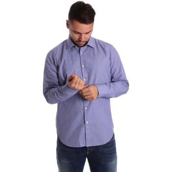 textil Hombre Camisas manga larga Gmf 972160/04 Azul