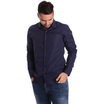 textil Hombre Camisas manga larga Gmf 972900/04 Azul