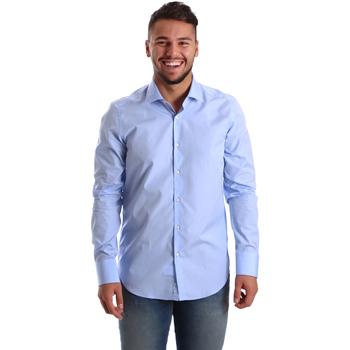 textil Hombre Camisas manga larga Gmf 972900/03 Azul
