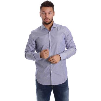textil Hombre Camisas manga larga Gmf 972906/04 Azul