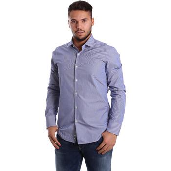 textil Hombre Camisas manga larga Gmf 972908/04 Azul