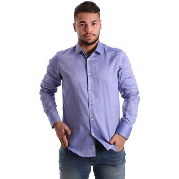 textil Hombre Camisas manga larga Gmf 972103/05 Azul