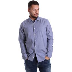 textil Hombre Camisas manga larga Gmf 972144/01 Azul