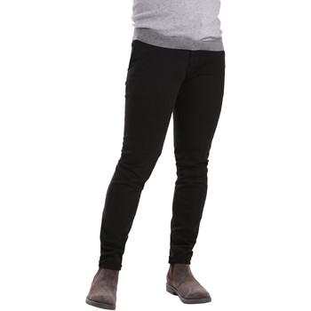 textil Hombre Pantalones chinos Sei3sei PZV21 7275 Negro