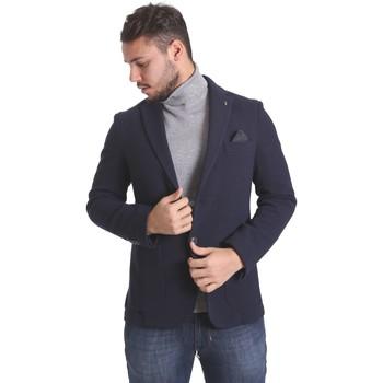 textil Hombre Chaquetas / Americana Sei3sei PZG9 7291 Azul