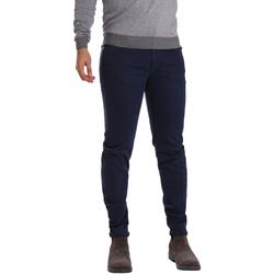 textil Hombre Pantalones con 5 bolsillos Sei3sei PZV17 7257 Azul