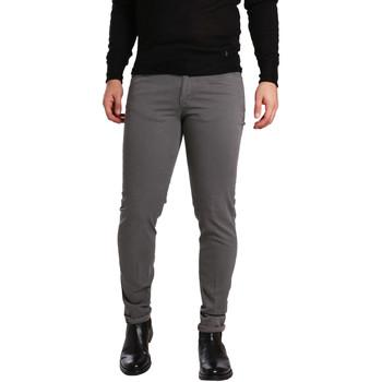 textil Hombre Pantalones con 5 bolsillos Sei3sei PZV17 7226 Gris