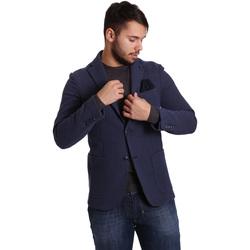 textil Hombre Chaquetas / Americana Sei3sei PZG9 7290 Azul