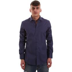 textil Hombre Camisas manga larga Gaudi 921BU45001 Azul