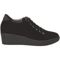 Zapatos Mujer Zapatillas bajas Grunland SC3524 Negro