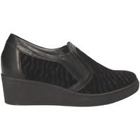 Zapatos Mujer Mocasín Grunland SC3525 Negro