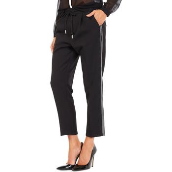 textil Mujer Pantalones chinos Gas 365777 Negro