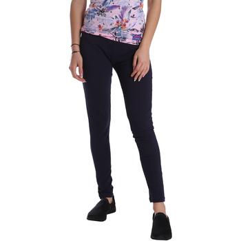 textil Mujer Leggings Key Up 095F 0001 Azul