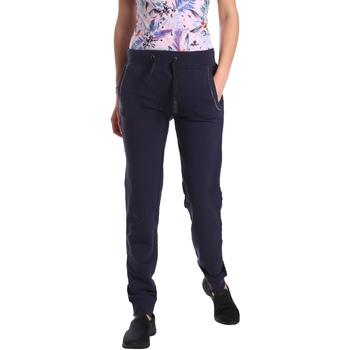 textil Mujer Pantalones de chándal Key Up GE42 0001 Azul
