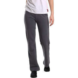textil Mujer Pantalones fluidos Key Up 549F 0001 Gris