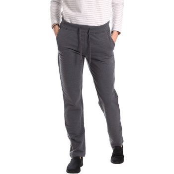 textil Mujer Pantalones de chándal Key Up GE31 0001 Gris