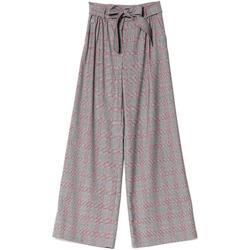 textil Mujer Pantalones fluidos Denny Rose 721DD20029 Negro