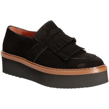 Zapatos Mujer Mocasín Triver Flight 217-04 Negro