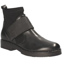 Zapatos Mujer Botines Mally 5887D Negro