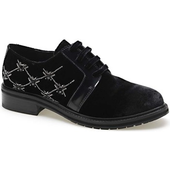 Zapatos Mujer Derbie Apepazza CMB03 Negro