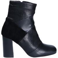 Zapatos Mujer Botines Keys 7173 Negro