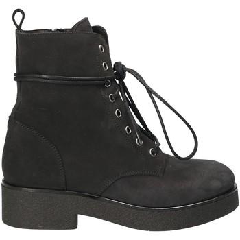 Zapatos Mujer Botines Mally 4235 Negro