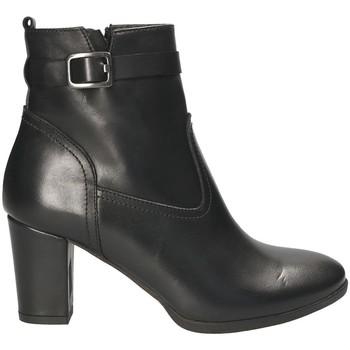 Zapatos Mujer Botines Mally 4473 Negro