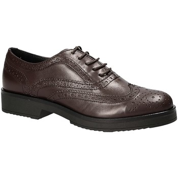Zapatos Mujer Derbie Mally 4704S Marrón