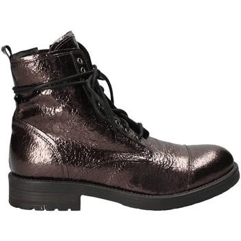 Zapatos Mujer Botas de caña baja Mally 5038 Marrón