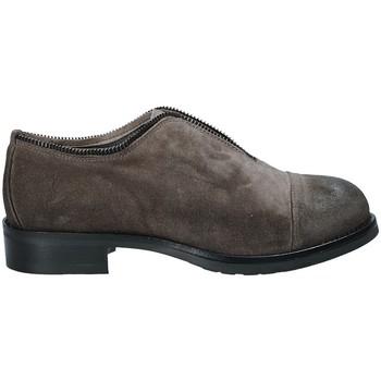 Zapatos Mujer Derbie Mally 5523 Gris