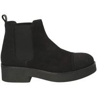 Zapatos Mujer Botines Mally 5536 Negro