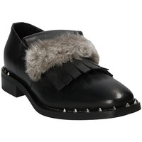 Zapatos Mujer Mocasín Mally 5970 Negro