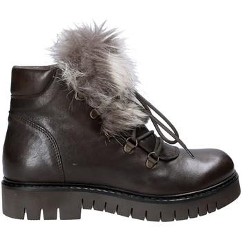 Zapatos Mujer Botas de caña baja Mally 5985 Marrón
