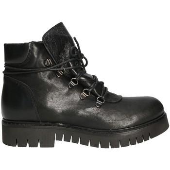 Zapatos Mujer Botas de caña baja Mally 5997 Negro