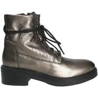 Zapatos Mujer Botines Mally 6005 Gris