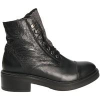 Zapatos Mujer Botines Mally 6019 Negro
