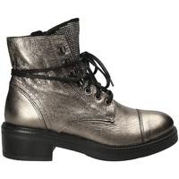 Zapatos Mujer Botines Mally 6019 Gris