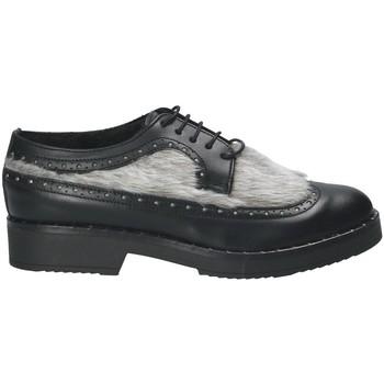 Zapatos Mujer Derbie Mally 4665SD Negro