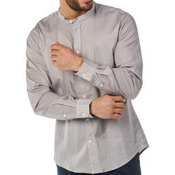 textil Hombre Camisas manga larga Gaudi 811BU45012 Gris