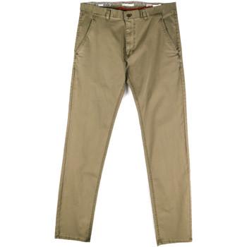 textil Hombre Pantalones chinos Gaudi 811FU25033 Verde